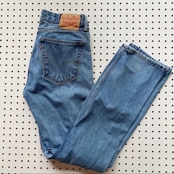 Levi's Denim - Levi's High Waisted 505 Jeans